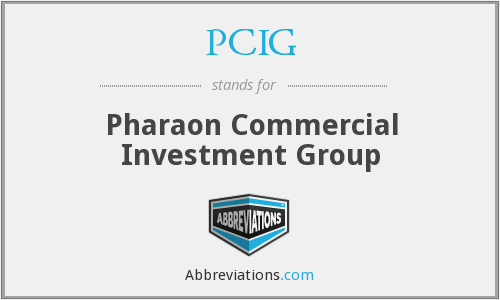 PCIG - Pharaon Commercial Investment Group