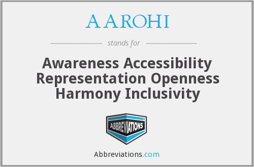 What does AAROHI stand for?