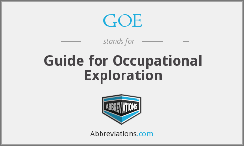 What does GOE stand for? — Page #2