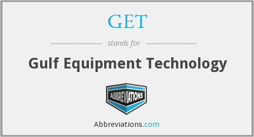 GET - Gulf Equipment Technology