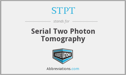 What does STPT stand for?