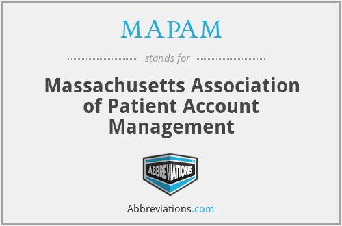 MAPAM - Massachusetts Association of Patient Account Management
