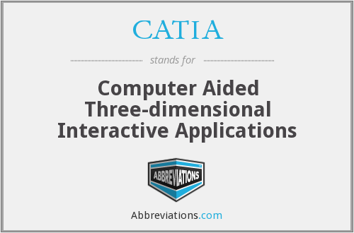 CATIA - Computer Aided Threed Interactive Applications