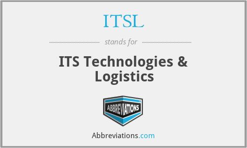 ITSL - ITS Technologies & Logistics