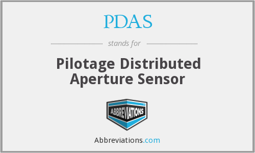 PDAS - Pilotage Distributed Aperture Sensor