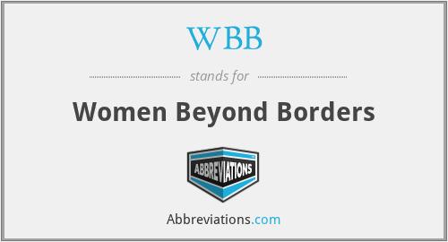 WBB - Women Beyond Borders