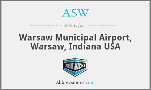 ASW - Warsaw Municipal Airport, Warsaw, Indiana USA