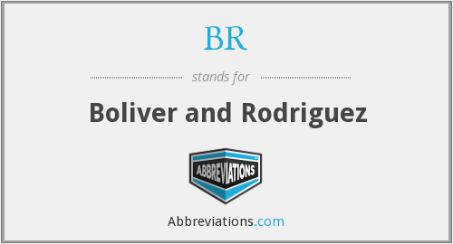 BR - Boliver and Rodriguez