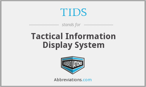 TIDS - Tactical Information Display System