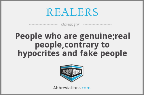 What does REALERS stand for?