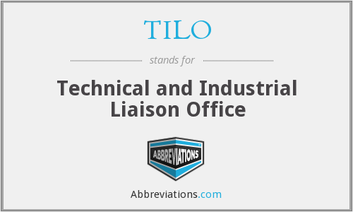 TILO - Technical and Industrial Liaison Office