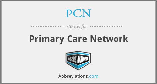 PCN - Primary Care Network