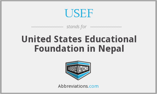 USEF - United States Educational Foundation in Nepal