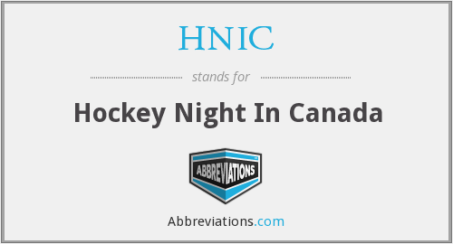 HNIC - Hockey Night In Canada