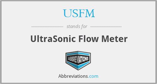 USFM - UltraSonic Flow Meter