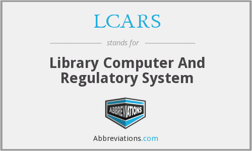 LCARS - Library Computer And Regulatory System