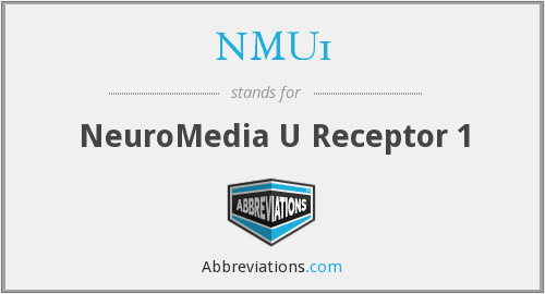 What does NMU1 stand for?