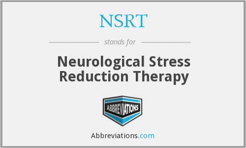 NSRT - Neurological Stress Reduction Therapy