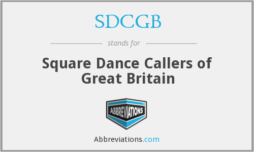What does SDCGB stand for?