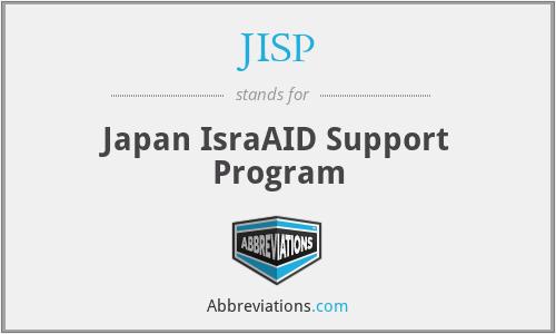 JISP - Japan IsraAID Support Program