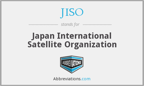 What does JISO stand for?