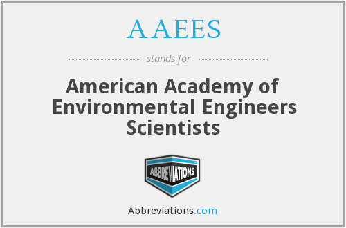 What does AAEES stand for?