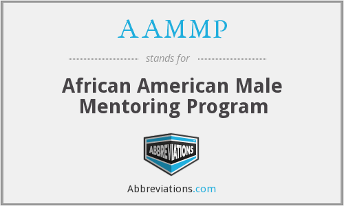 AAMMP - African American Male Mentoring Program