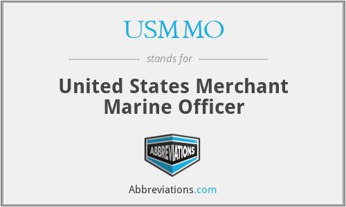 USMMO - United States Merchant Marine Officer