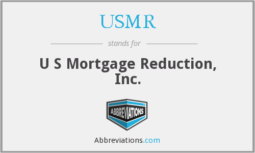USMR - U S Mortgage Reduction, Inc.