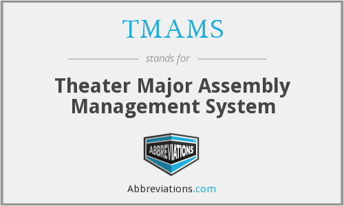What does TMAMS stand for?