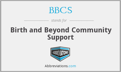BBCS - Birth and Beyond Community Support