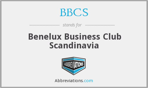 BBCS - Benelux Business Club Scandinavia