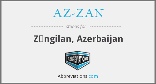 What does AZ-ZAN stand for?