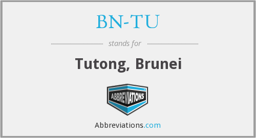What does BN-TU stand for?