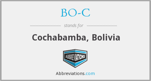 What does BO-C stand for?