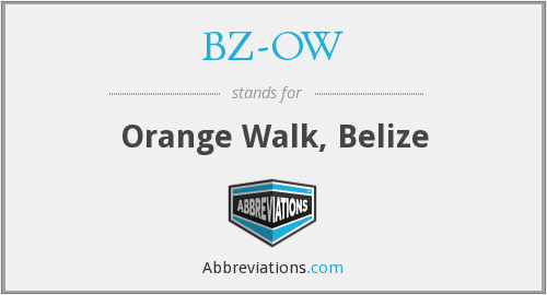 What does BZ-OW stand for?