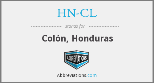 What does HN-CL stand for?