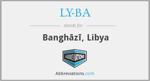 What does LY-BA stand for?