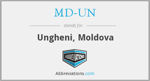 What does MD-UN stand for?