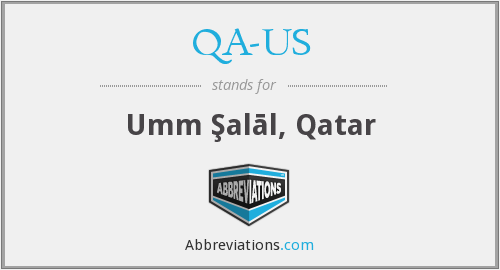 What does QA-US stand for?