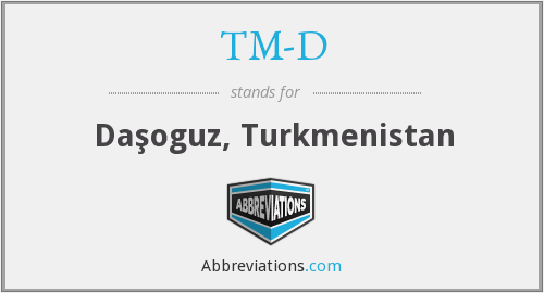 What does TM-D stand for?