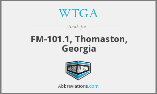 WTGA - FM-101.1, Thomaston, Georgia