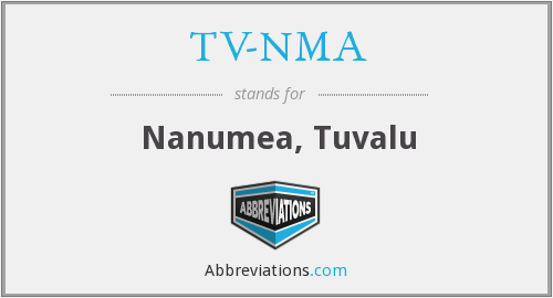 What does TV-NMA stand for?