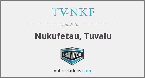 What does TV-NKF stand for?