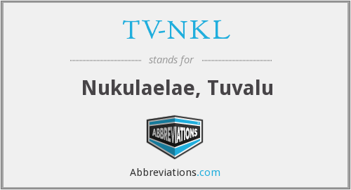 What does TV-NKL stand for?