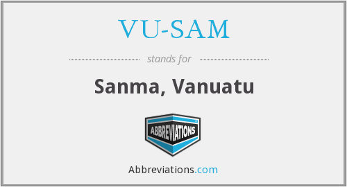What does VU-SAM stand for?