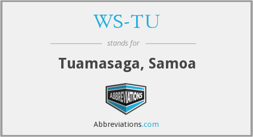What does WS-TU stand for?