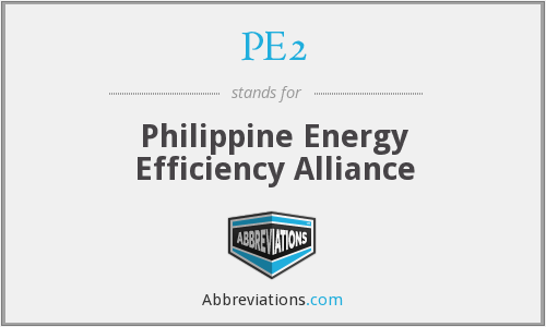 What does PE2 stand for?