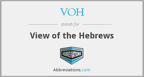 VOH - View of the Hebrews