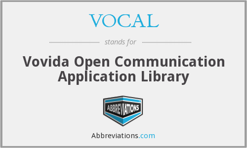 VOCAL - Vovida Open Communication Application Library